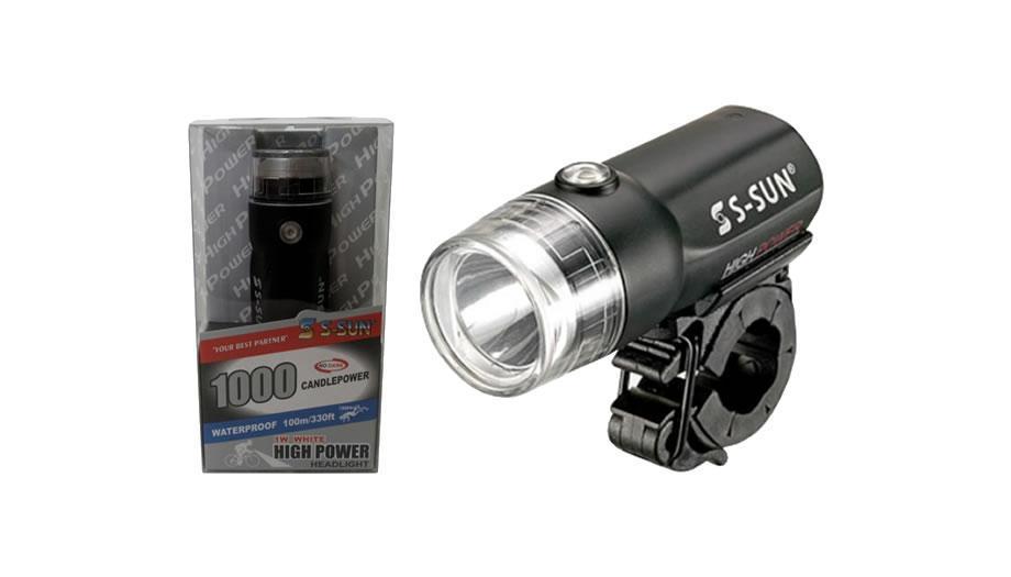 Lanterna S-Sun Modelo SS-L121W 1 Led Alta Potência