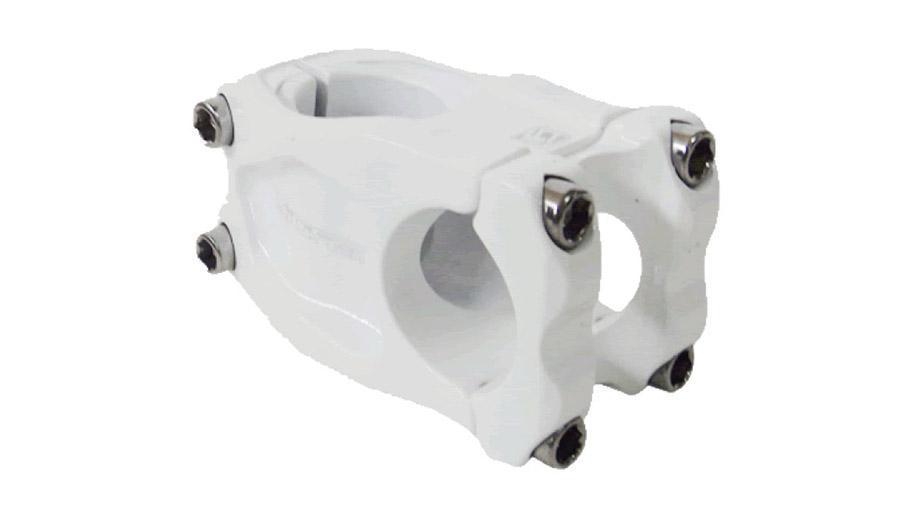 Suporte Guidão Giosbr Alumínio VILA 45mm Ahead Over Para Guidão 31.8mm Branco