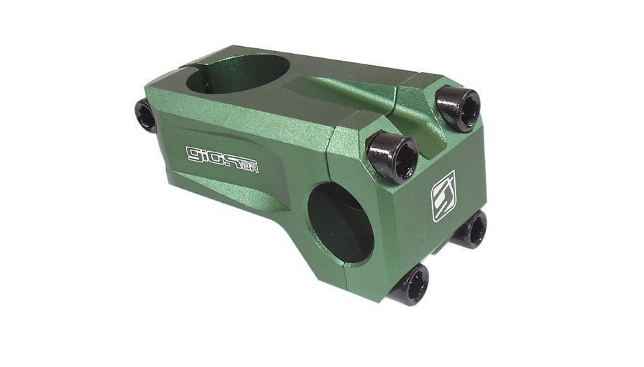 Suporte Guidão Giosbr BMX MF-960-NC 52mm Para Guidão 22.2mm Verde